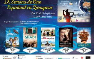 IX Semana Cine Espiritual 2017 Zaragoza